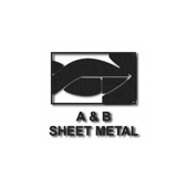 A & B Sheet Metal Logo