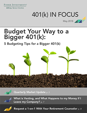 Budget your way to a bigger 401(k)