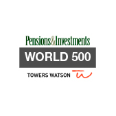 Pensions & Investments World 500 award